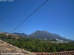 view from Callosa d'en Sarrià - Serra de Bèrnia on 2017-07-03