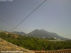 view from Callosa d'en Sarrià - Serra de Bèrnia on 2017-07-12