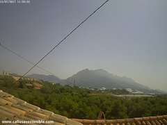 view from Callosa d'en Sarrià - Serra de Bèrnia on 2017-07-13