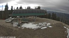 view from Angel Fire Resort - Chile Express on 2017-11-17