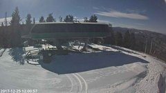 view from Angel Fire Resort - Chile Express on 2017-12-25