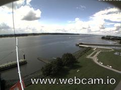 view from Willkommhöft Westen  on 2017-08-10