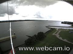 view from Willkommhöft Westen  on 2017-08-13