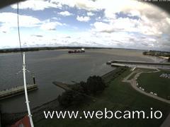 view from Willkommhöft Westen  on 2017-09-07