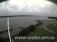 view from Willkommhöft Westen  on 2017-09-09