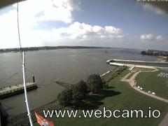 view from Willkommhöft Westen  on 2017-09-10