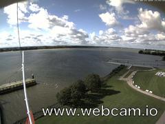 view from Willkommhöft Westen  on 2017-09-15