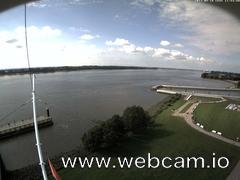 view from Willkommhöft Westen  on 2017-09-18