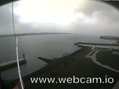 view from Willkommhöft Westen  on 2017-11-09