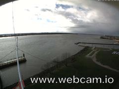 view from Willkommhöft Westen  on 2017-11-11