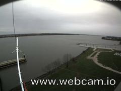 view from Willkommhöft Westen  on 2017-11-14
