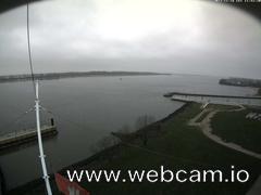 view from Willkommhöft Westen  on 2017-11-16