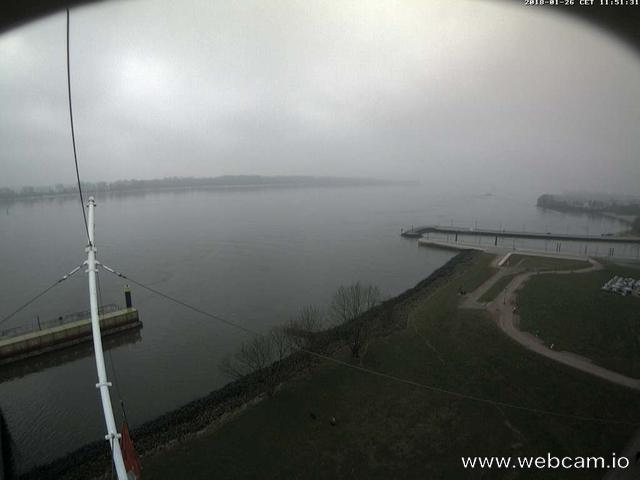 time-lapse frame, Willkommhöft Westen  webcam