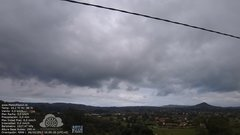 view from MeteoReocín on 2017-10-06