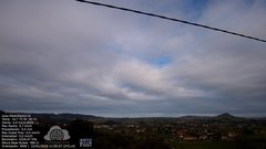 view from MeteoReocín on 2018-01-22