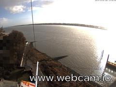 view from Willkommhöft Osten on 2017-12-09