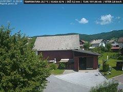 view from VREME ŽIRI-cam-1-SV on 2017-07-12