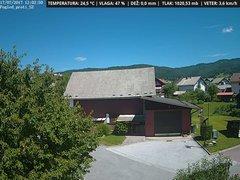 view from VREME ŽIRI-cam-1-SV on 2017-07-17