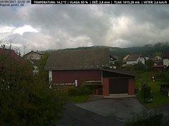 view from VREME ŽIRI-cam-1-SV on 2017-09-18