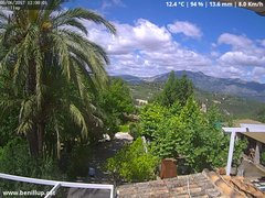 view from Benillup - Serra de Mariola on 2017-06-05