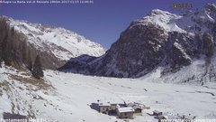 view from Val di Rèzzalo NE on 2017-11-15
