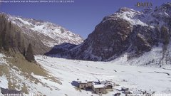 view from Val di Rèzzalo NE on 2017-11-18