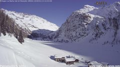 view from Val di Rèzzalo NE on 2018-01-13