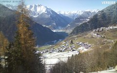 view from Verbier2 on 2017-11-27