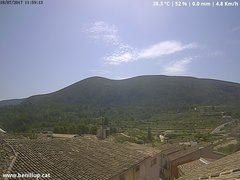 view from Benillup - Serra d'Almudaina on 2017-07-18