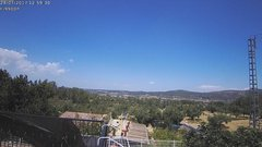 view from Agres - Bonell, el Comtat on 2017-07-24