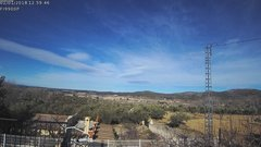 view from Agres - Bonell, el Comtat on 2018-01-01