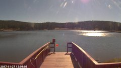 view from Angel Fire Resort - Monte Verde Lake on 2017-11-27