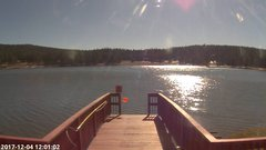 view from Angel Fire Resort - Monte Verde Lake on 2017-12-04
