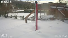 view from Deck-Dock Cam on 2018-01-14