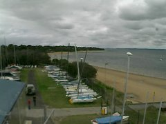 view from Cowes Yacht Club - West on 2017-12-09