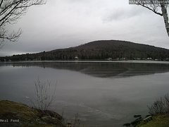 view from Neal Pond on 2017-12-05