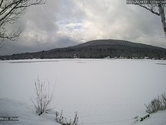 view from Neal Pond on 2017-12-10