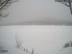 view from Neal Pond on 2017-12-13