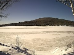 view from Neal Pond on 2017-12-14