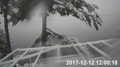 view from Bluffhead Hullets Landing, NY on 2017-12-12