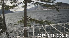 view from Bluffhead Hullets Landing, NY on 2017-12-13