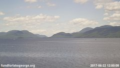 view from Diamond Point - Lake George, NY on 2017-06-22
