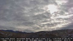 view from Horseshoe Bend, Idaho CAM2 on 2018-01-10