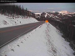 view from Highway 50 Road Conditions on 2017-10-30