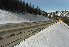 view from 4 - Highway 50 Road Conditions on 2018-01-19