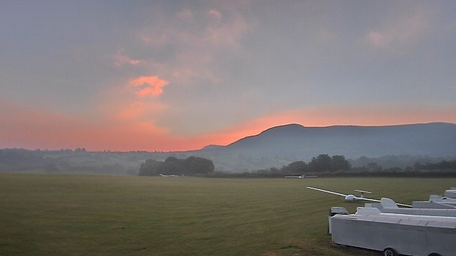 time-lapse frame, BMGC Daybreak 17 Aug 16 webcam