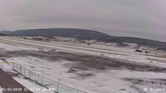 view from Mifflin County Airport (west) on 2018-01-15