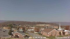 view from Highland Park Hose Co. #1 on 2017-12-03