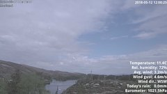 view from 1 Sotra island, W-Norway on 2018-05-12