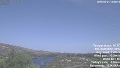 view from 1 Sotra island, W-Norway on 2018-05-21